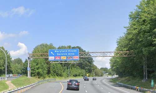 md interstate 95 maryland house travel center rest area mile marker 82 northbound off ramp exit